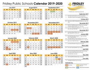 Minneapolis Public Schools Calendar 2020-2021 Fridley Public Schools: Calendar