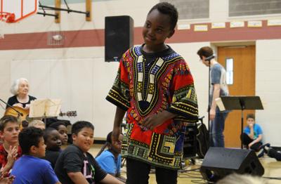 Hayes Elementary School celebrates World Culture Week